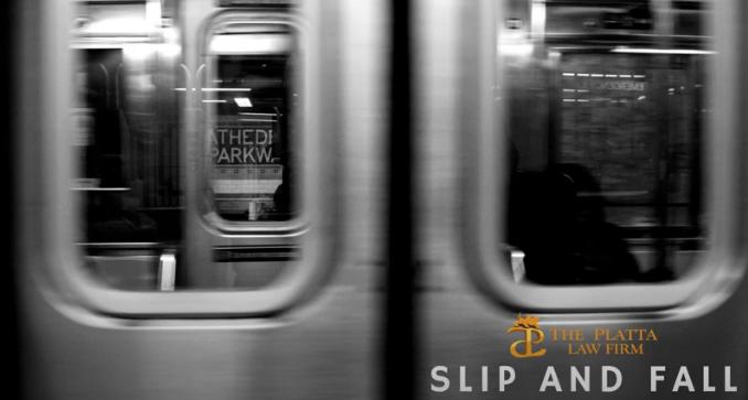 Slip and Fall Subway video
