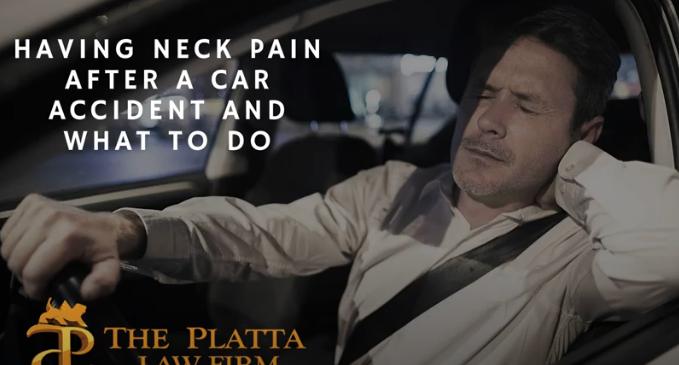 Neck pain video