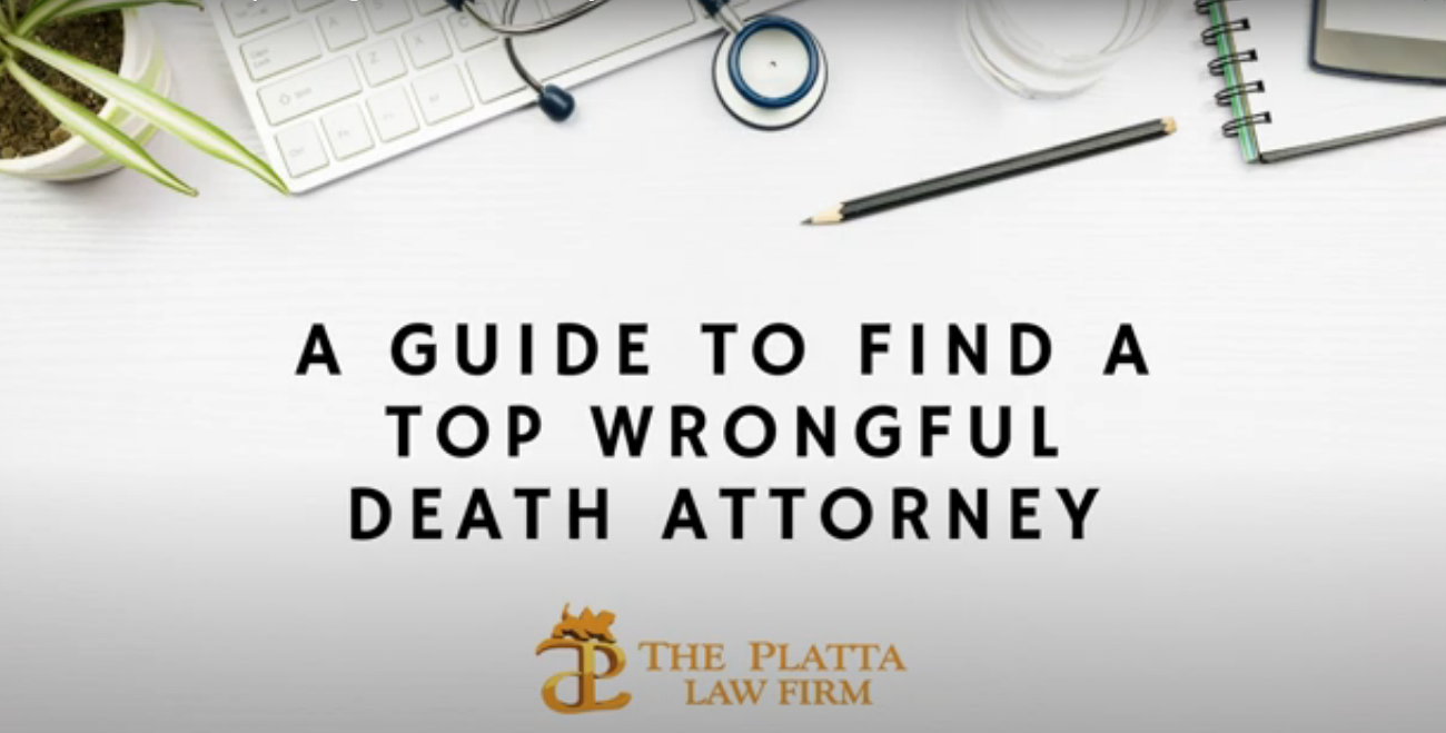 Wrongful death attorney video