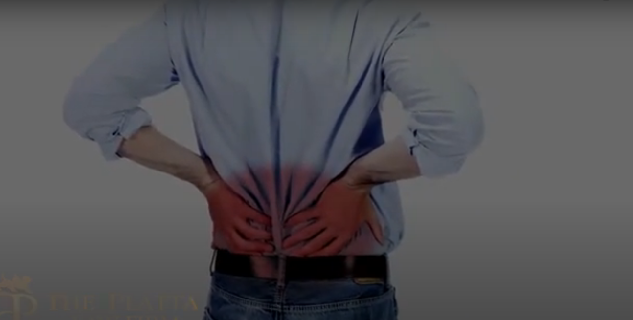 Lower back pain video