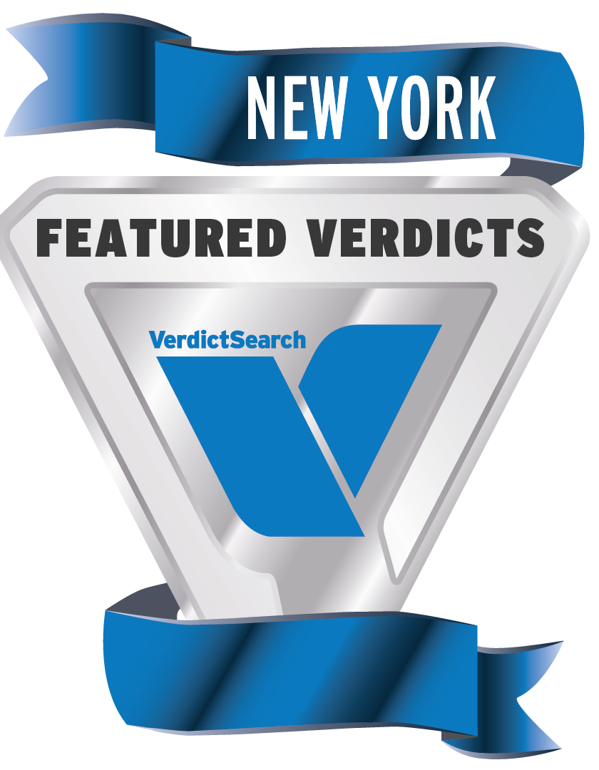 New York Featured Verdicts - VerdictSearch